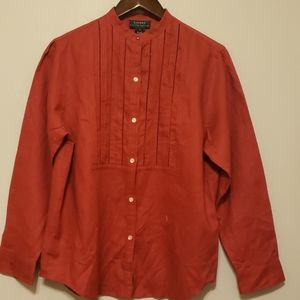 Ralph Lauren women's blouse size large